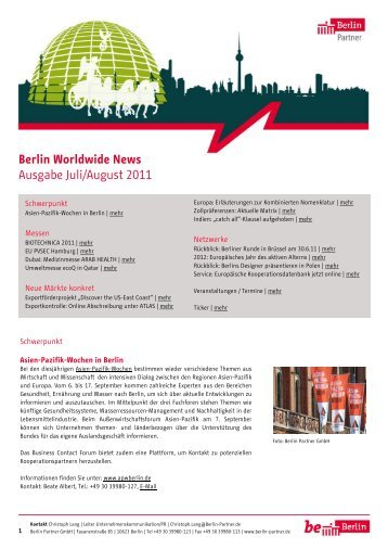 Berlin Worldwide News - Berlin Partner GmbH