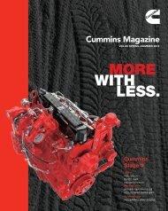 Cummins magazine 2018 SPRING+SUMMER Vol. 89
