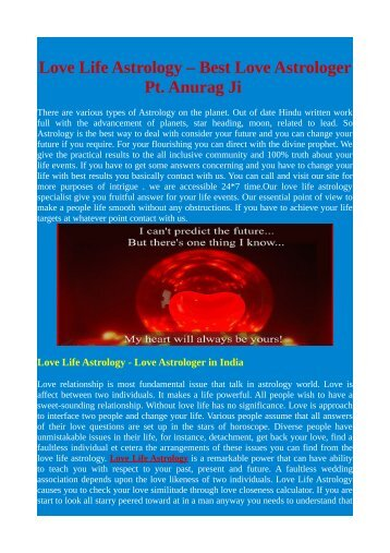 Love Life Astrology   Love Astrology   Love Life Solution