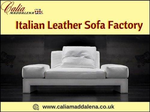 Phenomenal Popular Italian Leather Sofa Factory From Italy Calia Maddalena Camellatalisay Diy Chair Ideas Camellatalisaycom