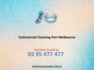 Commercial Cleaning Port Melbourne