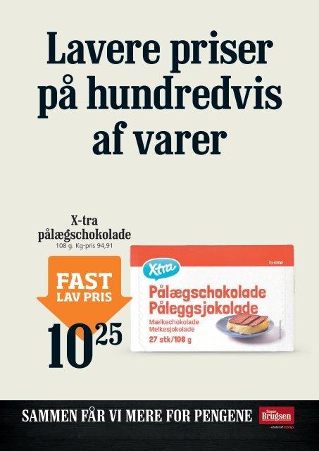 Fast lav pris hos SuperBrugsen Hornbæk!