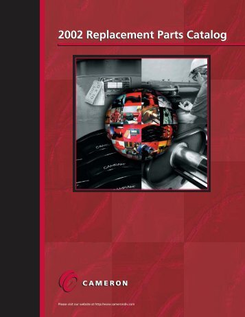 2002 Replacement Parts Catalog