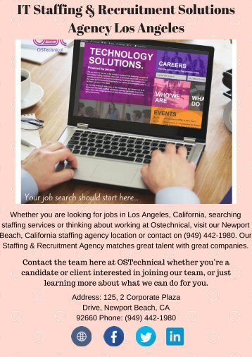 Los Angeles Staffing Companies
