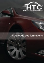 Catalogue des formations HTC