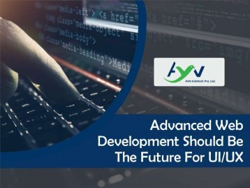Advanced Web Development - Ultimate Secret For Success in Digital Marketing