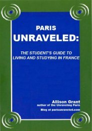 Recommended Methodology - Paris Unraveled