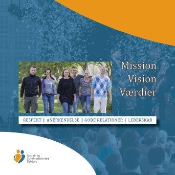 Mission Vision Værdier