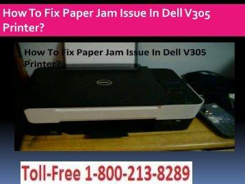 Paper Jam Issue In Dell V305 Printer