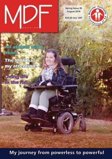 MDF Magazine Newsletter Issue 56 August 2018