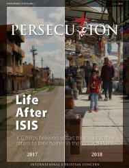 August 2018 Persecution Magazine