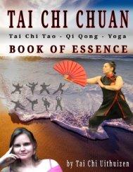 Tai Chi Chuan the Book of Essence Uithuizen