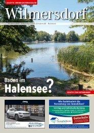 Gazette Wilmersdorf August 2018