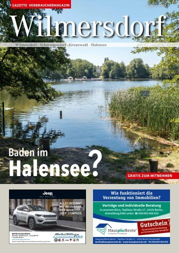 Gazette Wilmersdorf August 2018