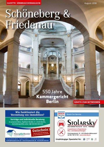 Gazette Schöneberg & Friedenau August 2018