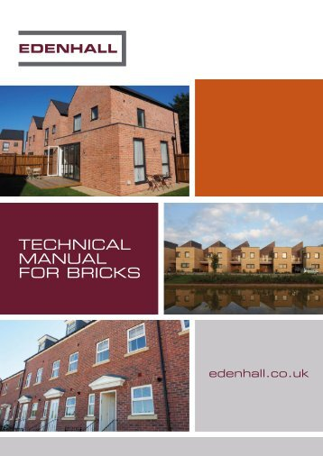 Edenhall Technical Brochure