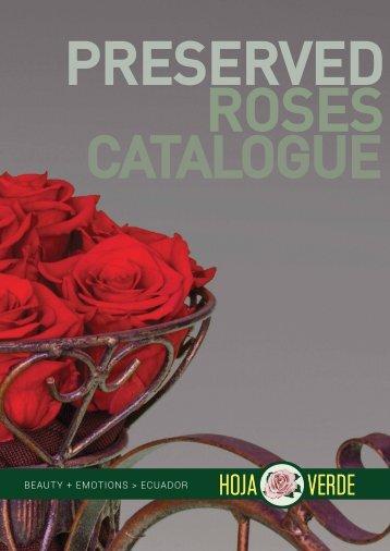 HOJA VERDE PRESERVED ROSES
