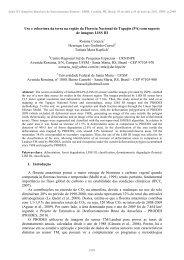 Uso e cobertura da terra na região da Floresta ... - DSR - Inpe