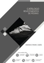 Catálogo Revestimento em Ardósias e Pedra sabão