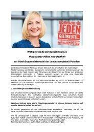 Wahlprüfsteine PMND. Martina Trauth für Die Linke