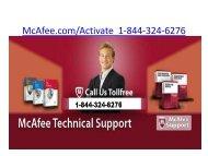 McAfee Internet Security  | 1-844-324-6276 | Mcafee.comActivate