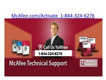 McAfee Internet Security  | 1-844-324-6276 | Mcafee.comActivate