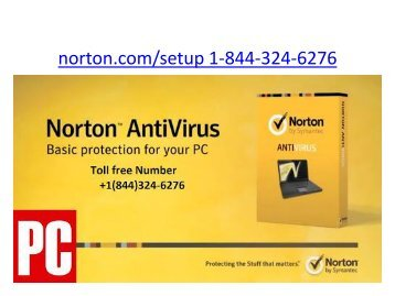 Norton.com/Setup | 1 844-324-6276 | Install Norton Security