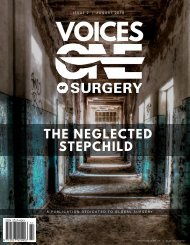 The Neglected Stepchild - Voices of One Surgery - Issue 2: August 2018