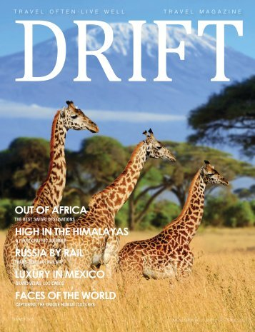 DRIFT Travel Summer 2018