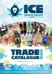ICE Headshop Wholesale Catalogue