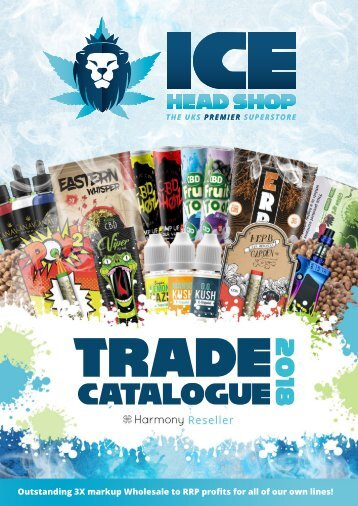 ICE Headshop Wholesale Catalogue
