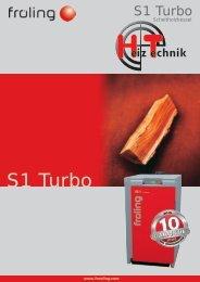 Prospekt Fröling S1 Turbo DE