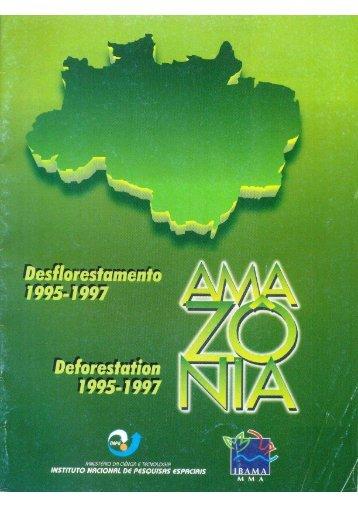 PRODES Analógico 1995-1997 - OBT - Inpe