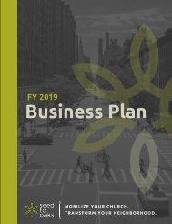 2018-2019 Business Plan Master
