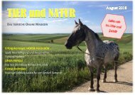 August 2018 - Tier und Natur - Online Magazin