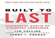 [+]The best book of the month Built to Last: Successful Habits of Visionary Companies (Harper Business Essentials)  [FULL]