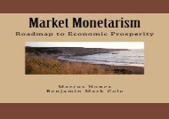[+][PDF] TOP TREND Market Monetarism: Roadmap to Economic Prosperity [PDF]