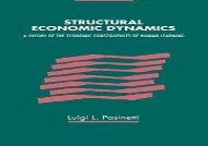 [+]The best book of the month Structural Economic Dynamics [PDF]