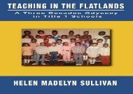 #PDF~ Teaching in the Flatlands: A Three Decades Odyssey in Oakland s Title I Schools Online