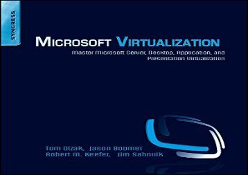 Audiobook Microsoft Virtualization: Master Microsoft Server, Desktop, Application, and Presentation Virtualization Any device