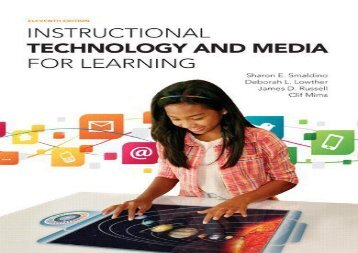 #PDF~ Instructional Technology and Media for Learning, Enhanced Pearson Etext with Loose-Leaf Version -- Access Card Package epub ready