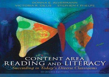Audiobook Content Area Reading and Literacy: Succeeding in Today s Diverse Classrooms epub ready