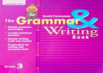 Mcdougal littell literature grammar for writing workbook answer key audiobook the grammar writing book grade 3 kindle ready fandeluxe Choice Image