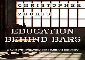 Free Download Education Behind Bars: A Win-WIn Strategy for Maximum Security kindle ready