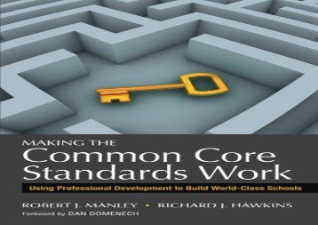 Audiobook Making the Common Core Standards Work Online
