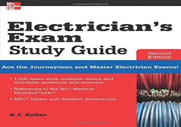 [PDF] Electrician s Exam Study Guide 2/E Full Ebook