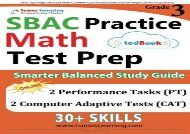 Audiobook SBAC Test Prep: 3rd Grade Math Common Core Practice Book and Full-length Online Assessments: Smarter Balanced Study Guide With Performance Task (PT) and Computer Adaptive Testing (CAT) (pdf,epub,txt)