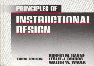 Audiobook Principles of Instructional Design (pdf,epub,txt)