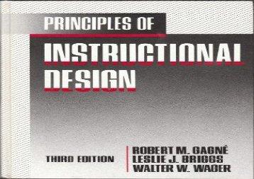 Audiobook Principles of Instructional Design (pdf,epub,txt)