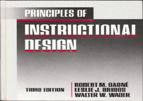Audiobook Principles Of Instructional Design Pdf Epub Txt